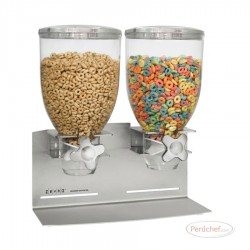 ZEVRO - SLS200 - DISPENSADOR DE CEREAL DOBLE