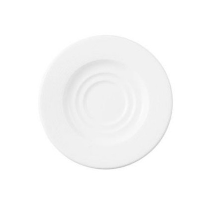 DUDSON - AFTER DINNER WHITE COFFEE SAUCER