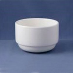 DUDSON - WHITE SOUP CUP UNHANDLED 10 OZ