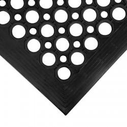 CACTUS - BLACK RUBBER MAT