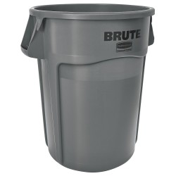 RUBBERMAID - BRUTE HEAVY-DUTY WASTE/UTILITY CONTAINER